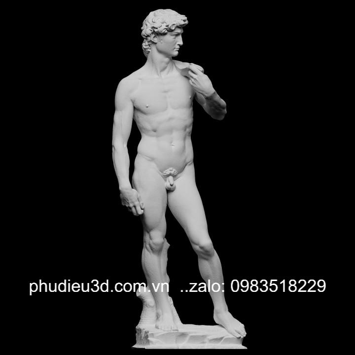 tượng david thạch cao